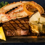 Steak & Alaska King Crab Legs 6oz